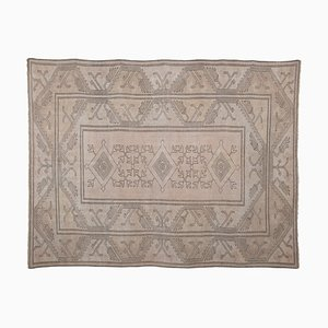 Turkish Decorative Soft Muted Color Oushak Living Room Rug