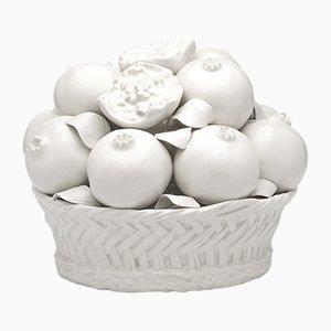 Scultura decorativa di frutta in ceramica di Eligo