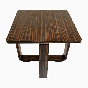 Modernist Ebony Macassar Coffee Table, 2000s