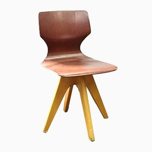 Vintage Pagwood Childrens Chair by Adam Stegner for Pagholz Flötotto, 1960s