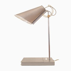 Steel Table Lamp by Andrée Putman for Baldinger & Sons, 1980s