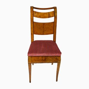 Chaises de Salon Antique en Erable, Set de 4