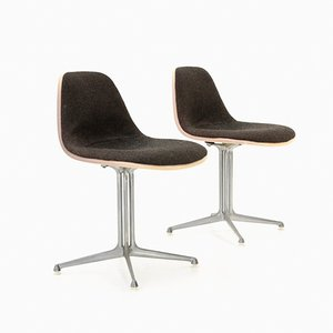 Mid-Century La Fonda Dining Chairs by Charles & Ray Eames for Herman Miller, Set of 2