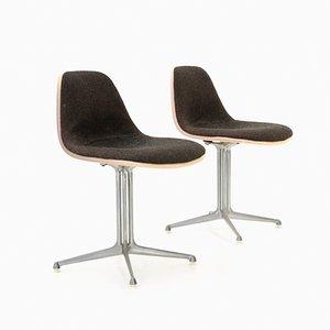 Mid-Century La Fonda Esszimmerstühle von Charles & Ray Eames für Herman Miller, 2er Set