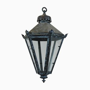 Antique English Copper Ceiling Lamp