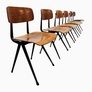 Result Chairs by Friso Kramer for Ahrend De Cirkel, 1950s, Set of 6