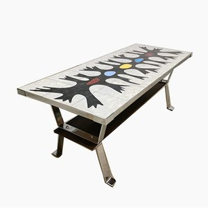 Color Art Coffee Table from Erpe, 1960s