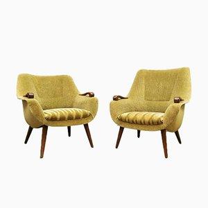 Niederländische Armlehnstühle, 1950er, 2er Set