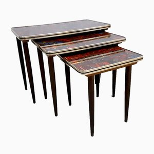 Pop Art Nesting Tables, 1960s