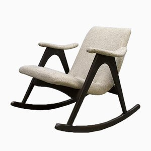 Danish Rocking Chair by Louis van Teeffelen for Webe, 1960s