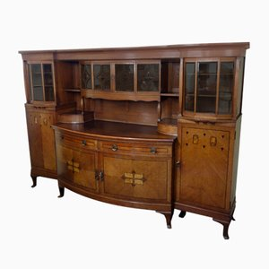 Dutch Sideboard in Solid Oak, 1880s