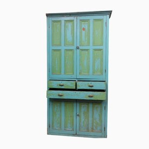 Victorian Four Door Kitchen Larder Cabinet