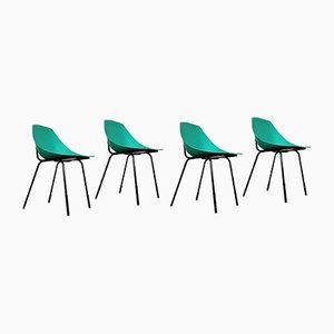 Coquillage Chairs by Pierre Guariche for Meurop, 1950s, Set of 4