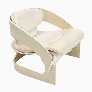 Modell 4801 Armlehnstuhl von Joe Colombo für Kartell, Italien, 1965