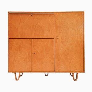 Bureau et Armoire CB01 en Bouleau par Cees Braakman pour UMS Pastoe, Designed in 1952, Netherlands