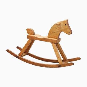 Vintage Rocking Horse by Kay Bojesen, 1950s