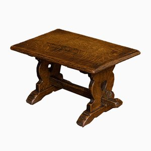 Antique Arts and Crafts Miniature Refectory Tables, Set of 2