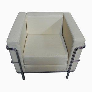 Vintage Skai Modell LC2 Sessel von Le Corbusier, 1990er