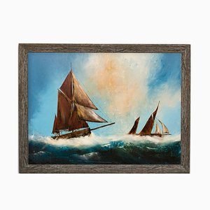 Maritime Seascape Oil Painting from David Chambers, 2019