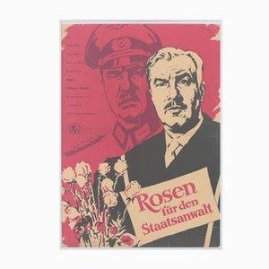 Vintage Roses for the Law Attorney Filmposter von Progress Film, 1960er