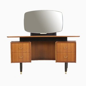 Mid-Century Dressing Table with Adjustable Mirror from G-Plan, 1960s
