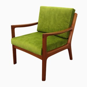 Mid-Century Teak Senator Lounge Chair by Ole Wanscher for France & Søn / France & Daverkosen, 1960s