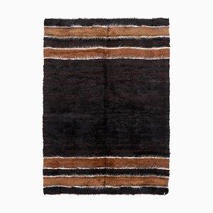 Vintage Turkish Handwoven Blanket Kilim Rug, 1970s