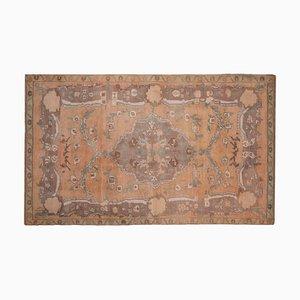 Antiker Türkischer Oushak Teppich im Art Deco Stil