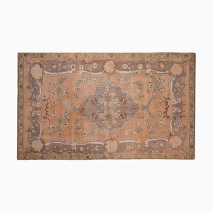 Antique Art Deco Style Turkish Oushak Rug
