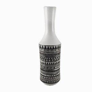 Schweizer Mid-Century Keramikvase von Heinrich Meister
