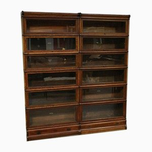 Antique Cabinets from Globe Wernicke, Set of 12