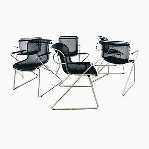 Penelope Esszimmerstühle von Charles Pollock für Castelli, 1980er, 6er Set