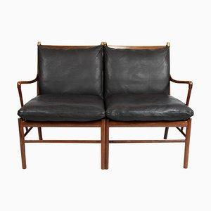 Palisander OW149-2 Colonial 2-Sitzer Sofa von Ole Wanscher für P. Jeppesens Møbelfabrik, 1960er