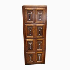 Belgian Oak Filing Cabinet, 1950s