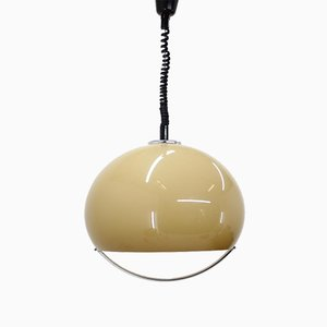 Large Space Age Meblo Pendant Lamp by Harvey Guzzini, 1970s