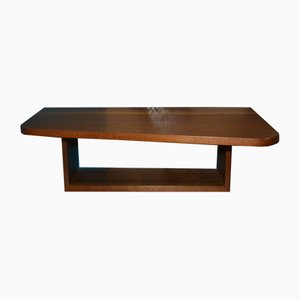 Mid-Century Walnut Shelf, 1960s