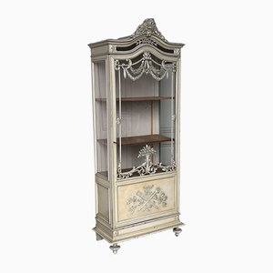 Antique French Vitrine Cabinet