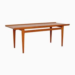 Table Basse Modèle 635 en Teck Massif par Finn Juhl pour France & Søn / France & Daverkosen, 1956