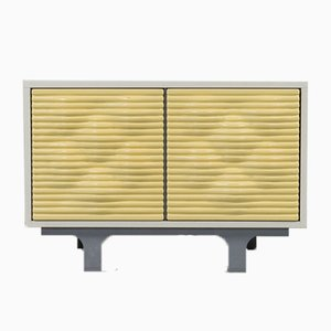 Mid-Century Space Age Italian Sculptural Sideboard