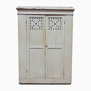 Antique Walnut and Pinewood Cupboard