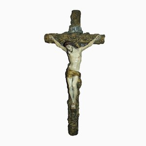 Art Nouveau Gypsum Cross
