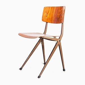 S201 Dining Chair by Friso Kramer & Wim Rietveld for Galvanitas, 1950s