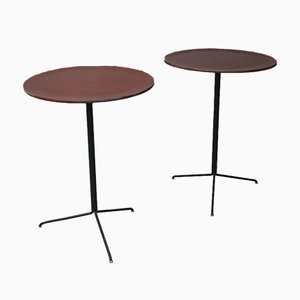 Mid-Century Model T44 Coffee Tables by Osvaldo Borsani for Tecno, Set of 2