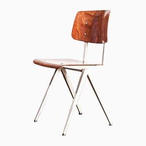 S16 Compass Collection Esszimmerstühle von Friso Kramer für Galvanitas, 1950er, 8er Set