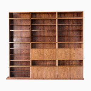 German Rosewood Wall Unit from Perfecta, 1960s