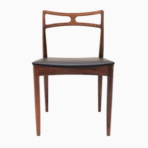 Rosewood Model 94 Dining Chairs by Johannes Andersen for Christian Linneberg, 1960s, Set of 4