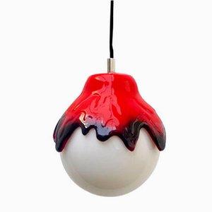 Spanish Ceramic Pendant Lamp, 1960s