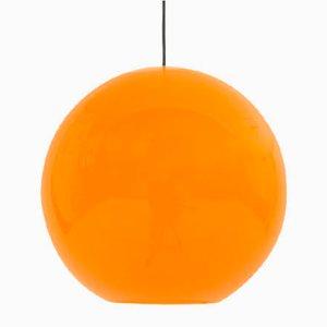 Italienische Onionlampen in Orange von Alessandro Pianon für Vistosi, 1960er, 2er Set