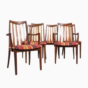 Chaises de Salon Mid-Century de G-Plan, 1960s, Set de 6