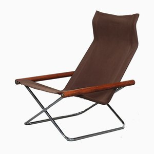 Italian Folding Lounge Chair by Takeshi Nii for Jox Interni, 1970s